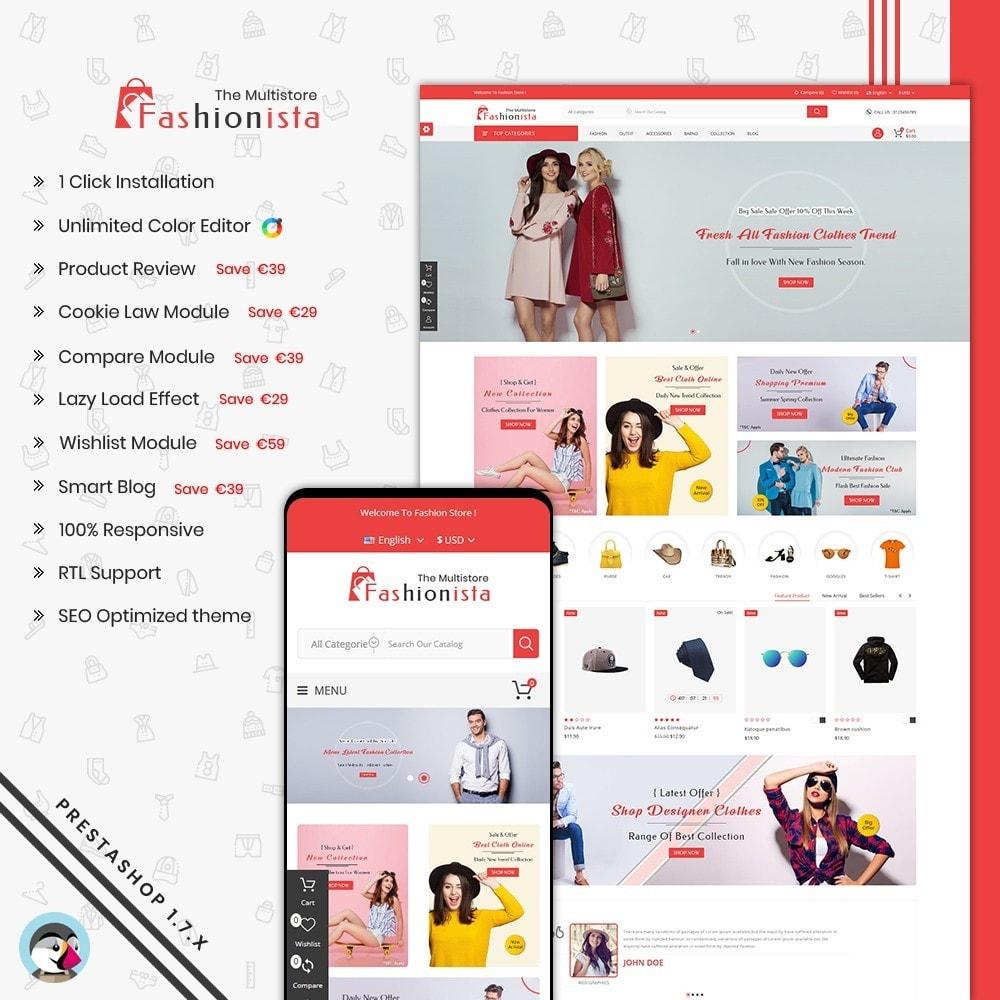 theme - Mode & Schuhe - FashionIsta Multistore - 1
