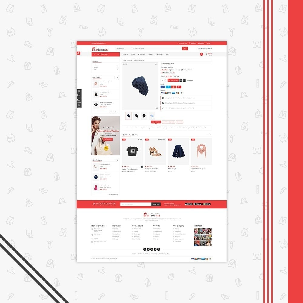 theme - Mode & Schuhe - FashionIsta Multistore - 5