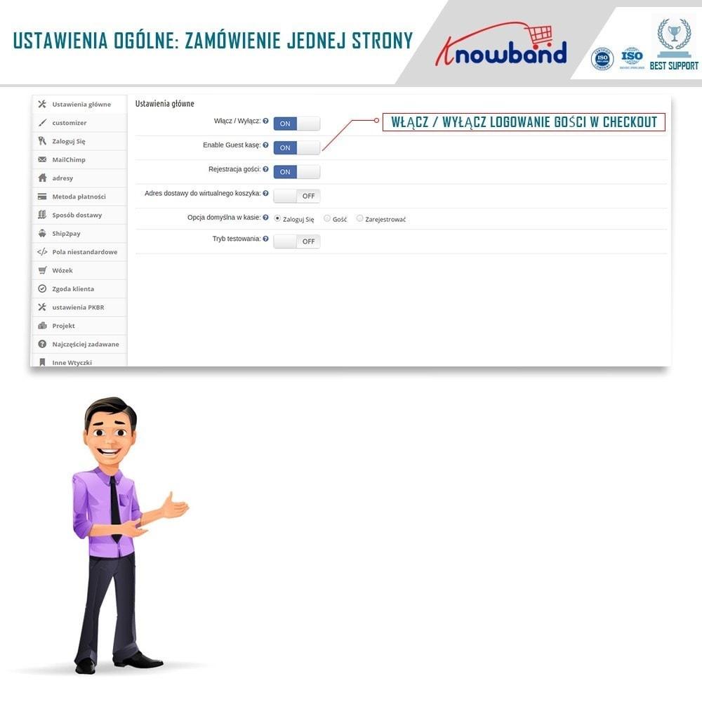 module - Szybki proces składania zamówienia - One Page Checkout, Social Login & Mailchimp - 4