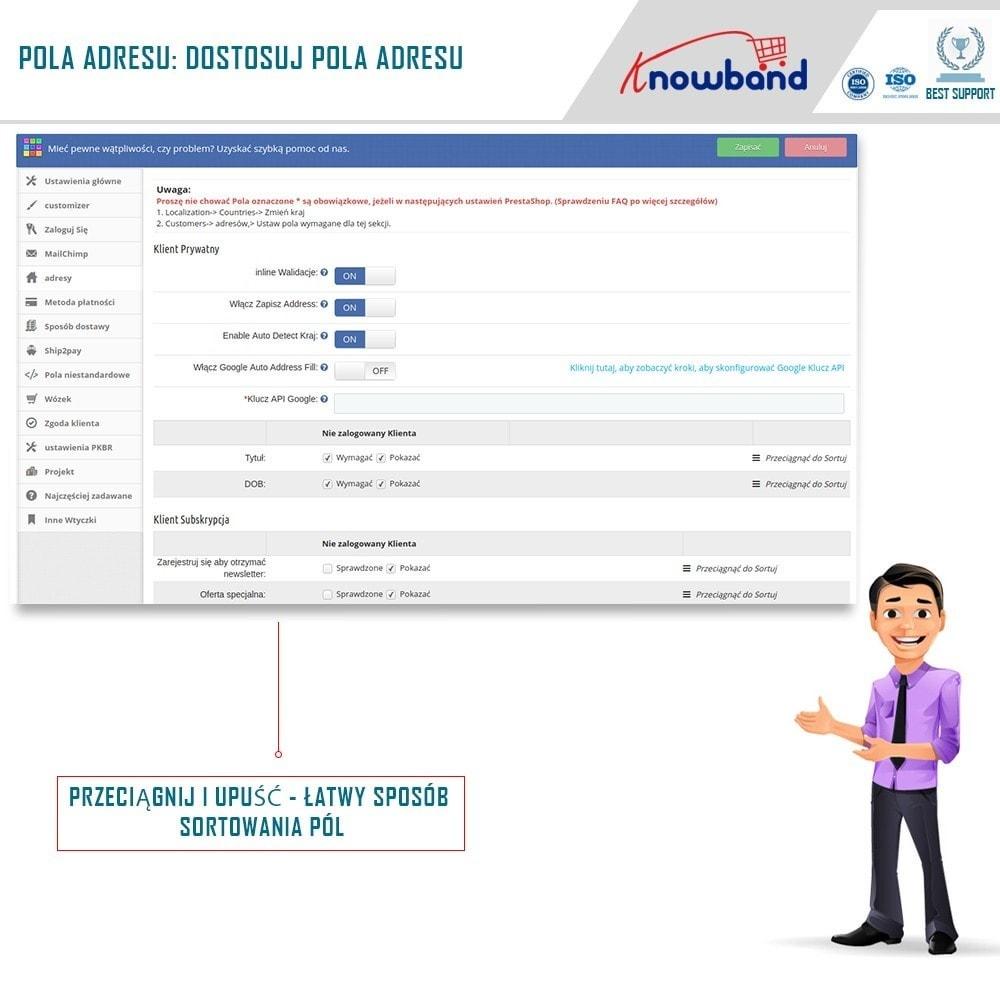 module - Szybki proces składania zamówienia - One Page Checkout, Social Login & Mailchimp - 5