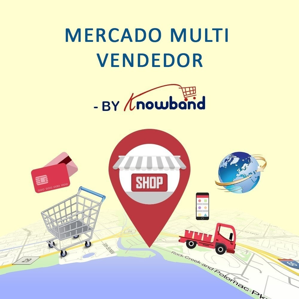 module - Criação de Marketplace - Knowband - Multi Vendor Marketplace - 1