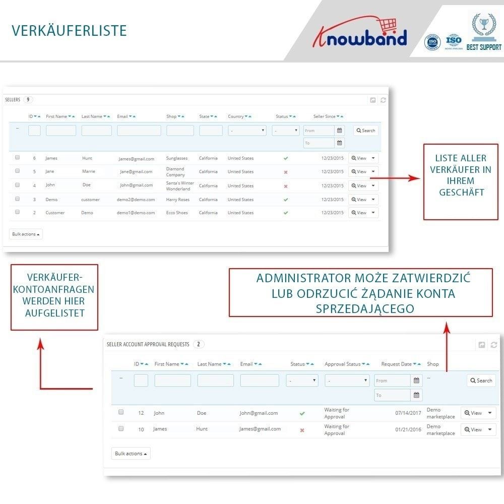 module - Marketplace Erstellen - Knowband - Multi Vendor Marketplace - 7