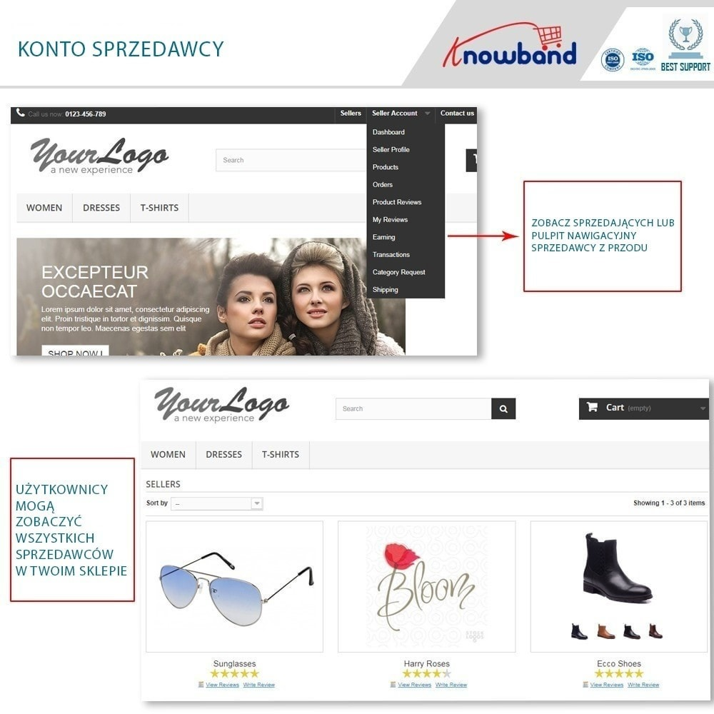 module - Stworzenia platformy handlowej - Knowband - Multi Vendor Marketplace - 2
