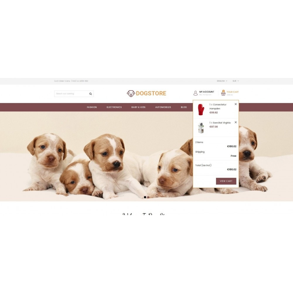 theme - Tier - Dog Store - Pet Food Store - 7