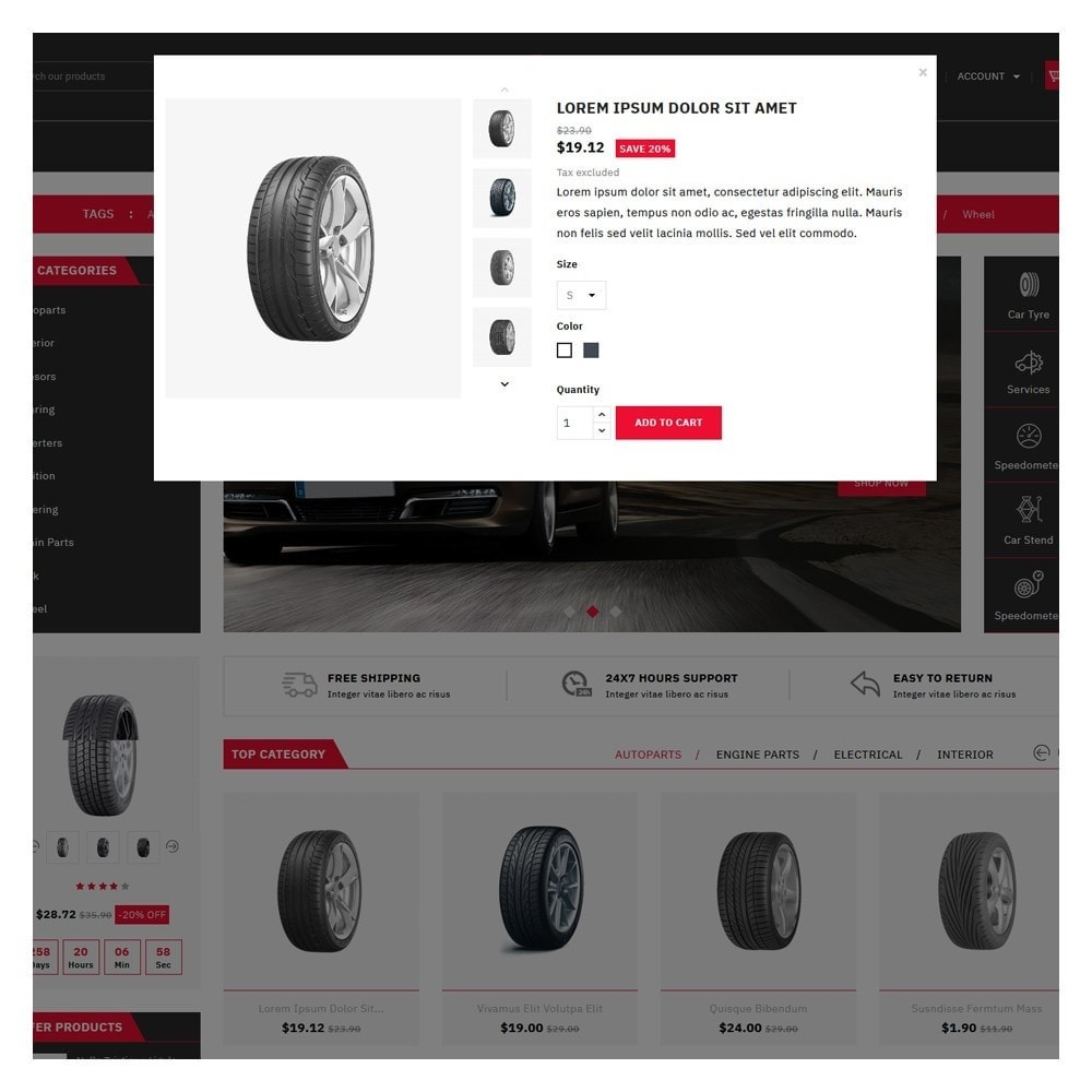 theme - Automotive & Cars - Mascot Automotive & Cars Parts - 9