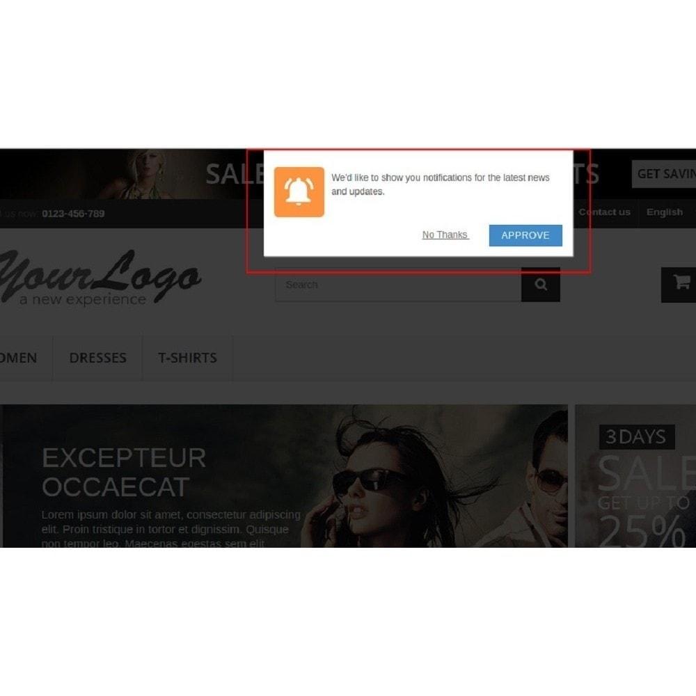 module - Promotions & Cadeaux - Notifications Push Web - 1