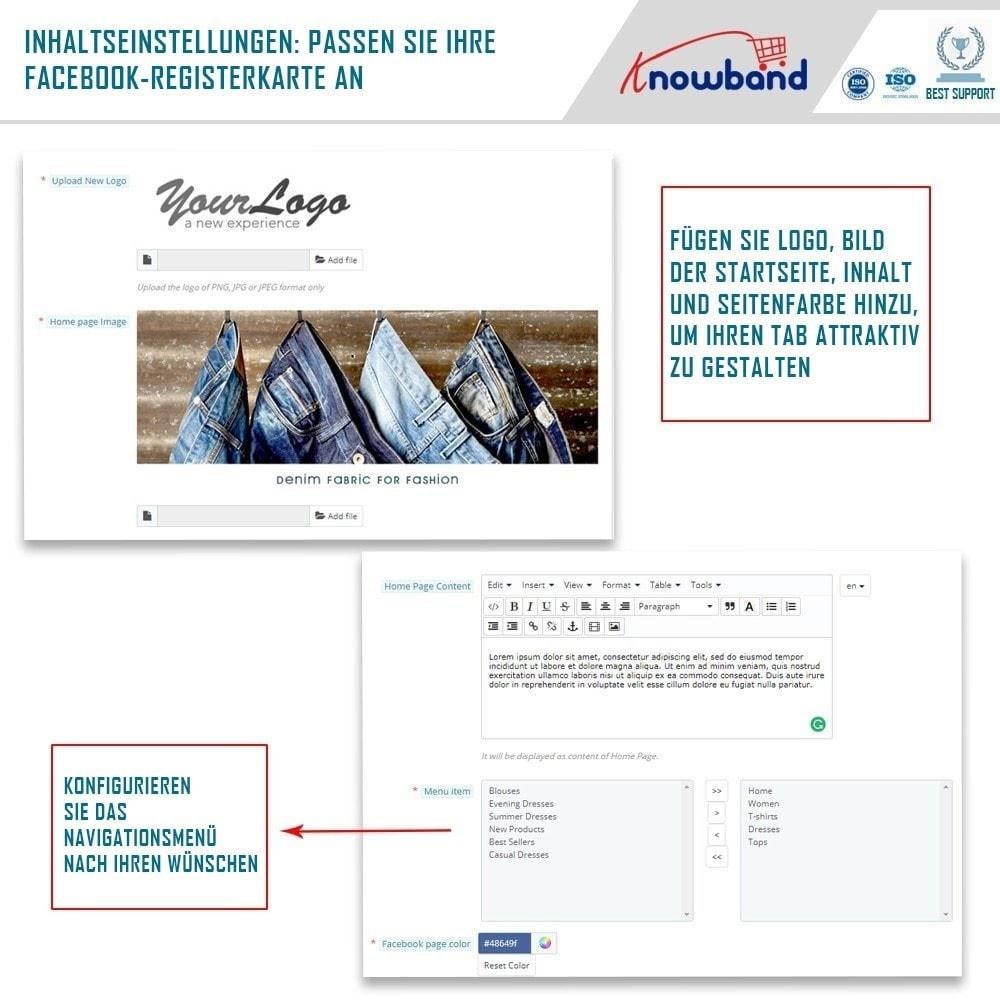 module - Produkte in Facebook & sozialen Netzwerken - Social Shop Integrator - 3