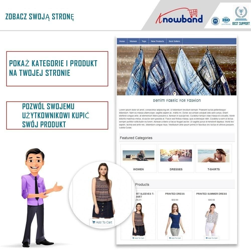 module - Produkty w serwisach społecznościowych - Social Shop Integrator - 1