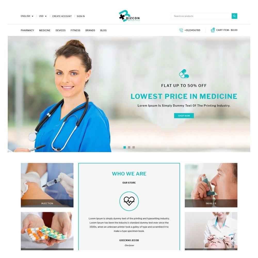 theme - Health & Beauty - Bizcon Medicine Shop - 2