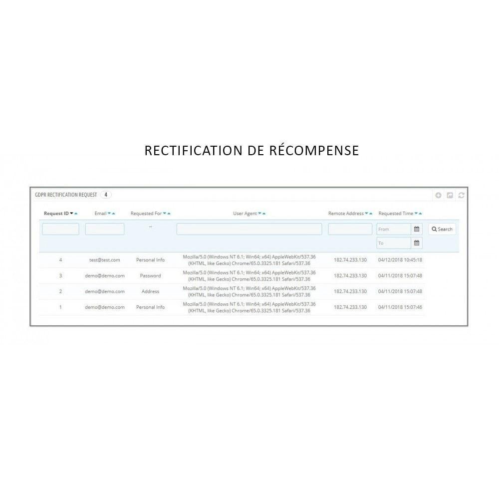 module - Législation - Knowband - RGPD - Droits des individus - 12
