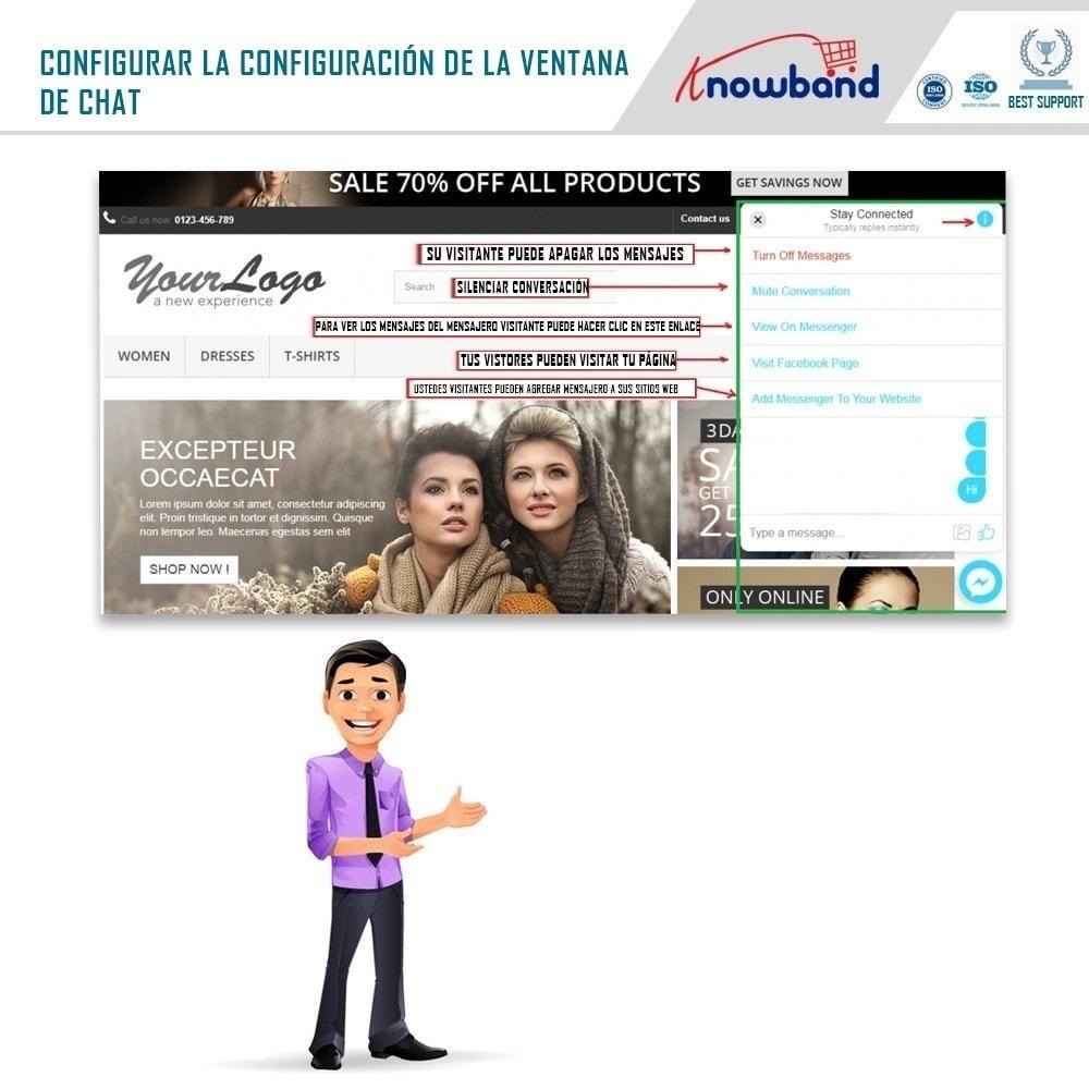 module - Asistencia & Chat online - Social Messenger, soporte de Live Chat - 4