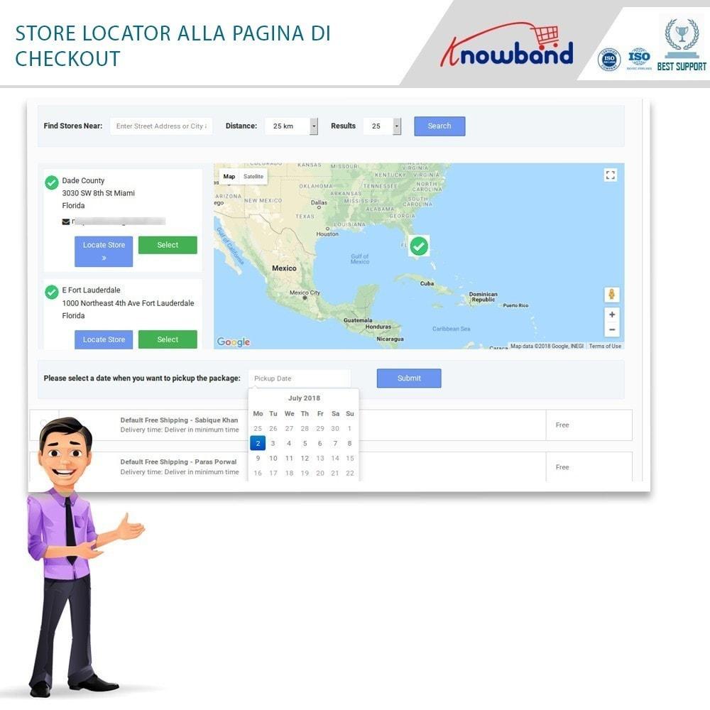 module - Punto di raccolta & Ritiro in negozio - Store Locator and Pickup - 1