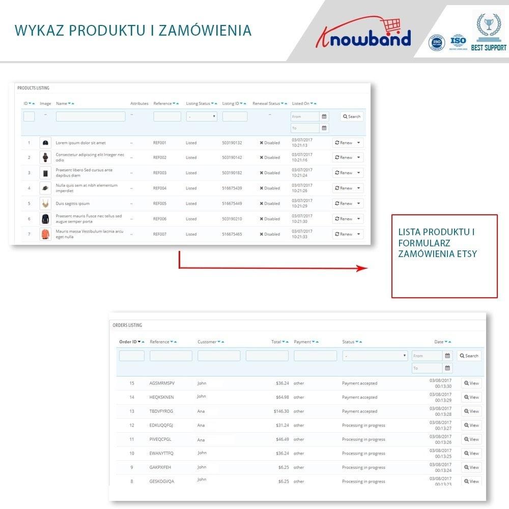 module - Platforma handlowa (marketplace) - Etsy Marketplace Integration - 6