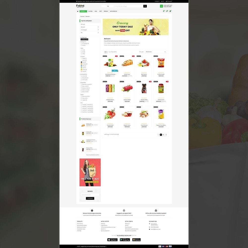 theme - Alimentation & Restauration - Épicerie FreshG Superstore v3 - 4