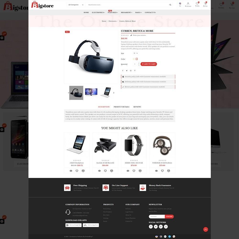 theme - Electronics & Computers - Bigstore - Multipurpose Mega Electronics Store - 12