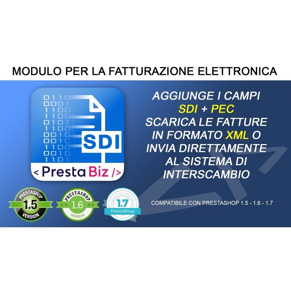 module - Contabilità & Fatturazione - Fatturazione Elettronica + Invio SDI - 1