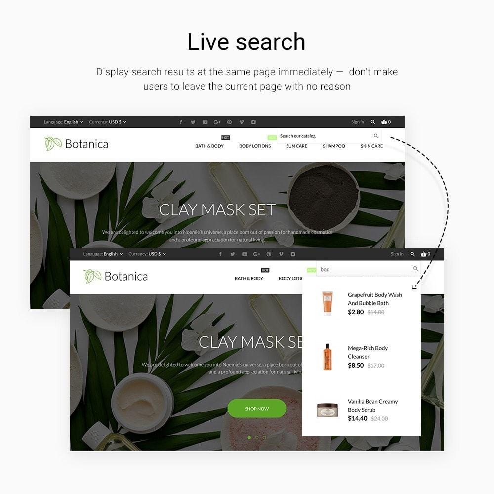 theme - Здоровье и красота - Botanica Cosmetics - 3