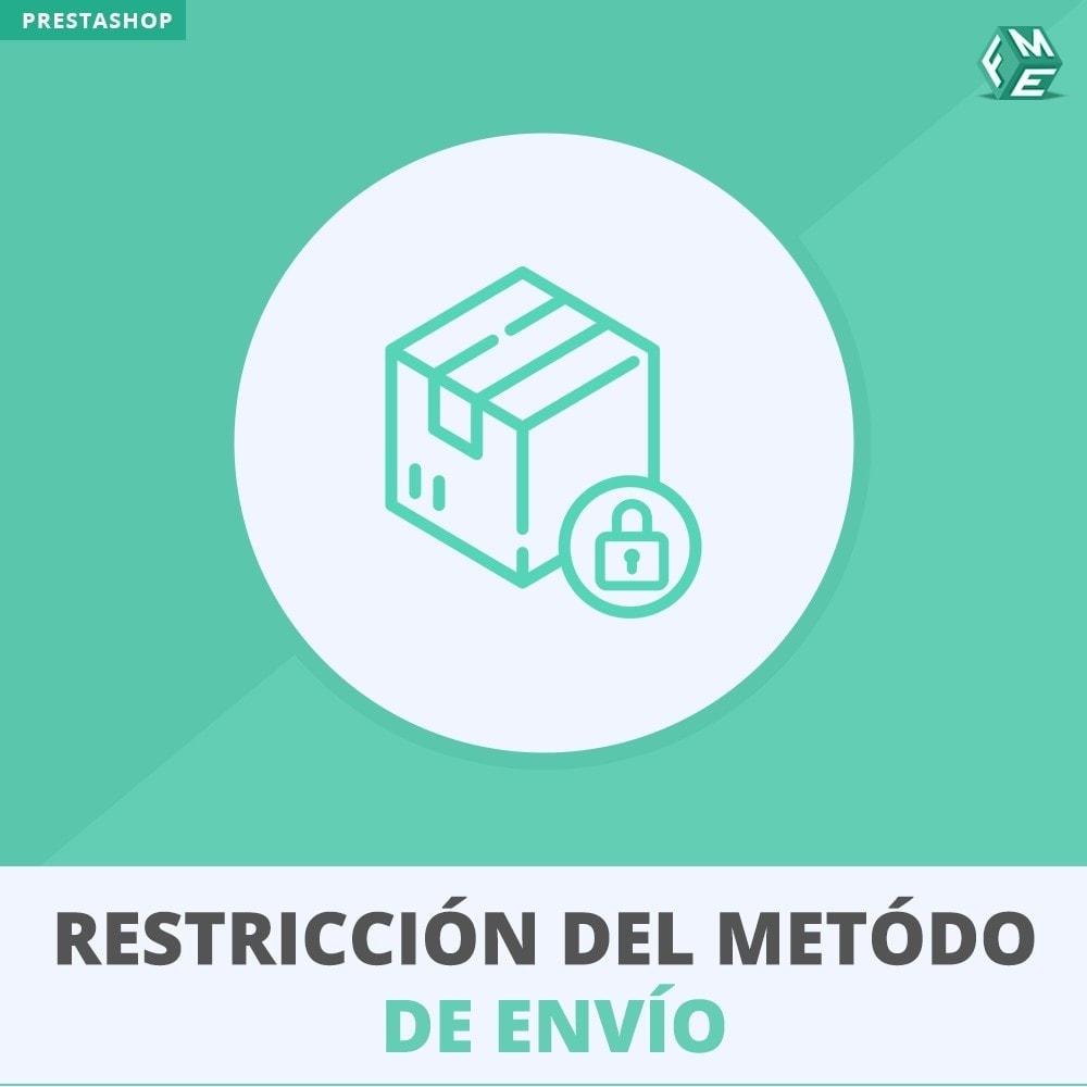 module - Envío y Logística - Restriccióndel metódo de envío - 1