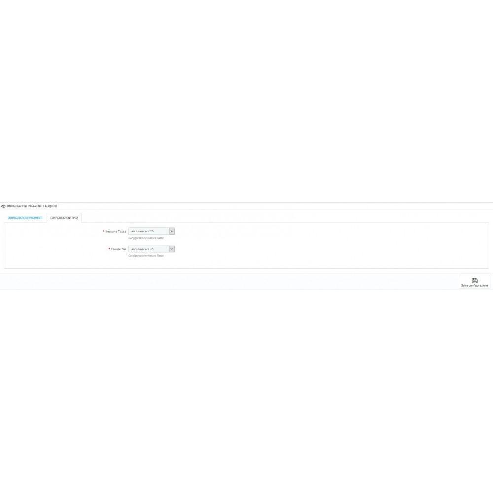 module - Pagamento con Fattura - ITC XML Fattura Elettronica - 6