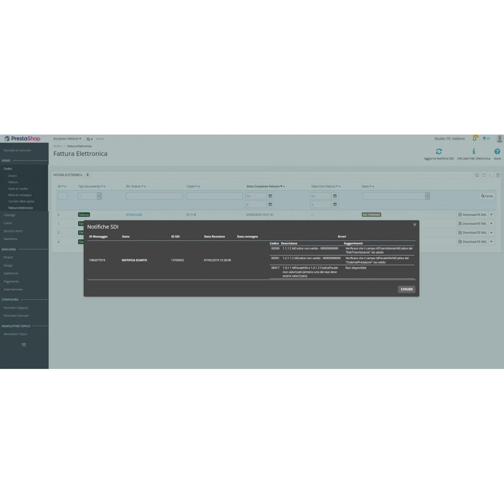 module - Pagamento con Fattura - ITC XML Fattura Elettronica - 9
