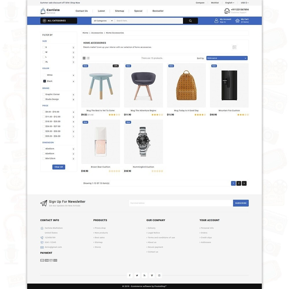 theme - Elettronica & High Tech - Cartista -The MultiStore Theme - 3
