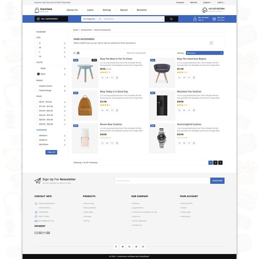 theme - Elettronica & High Tech - Cartista -The MultiStore Theme - 4