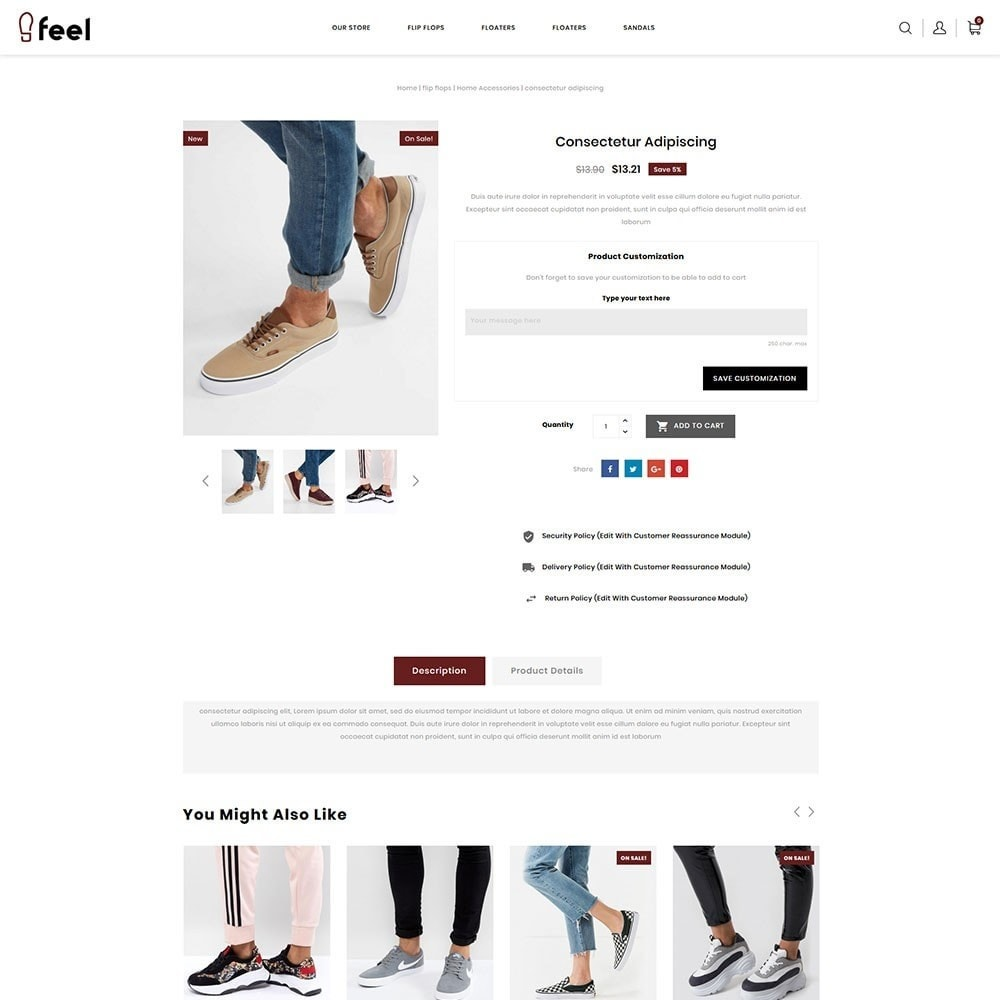 theme - Moda & Obuwie - Feel - The Shoe Store - 6