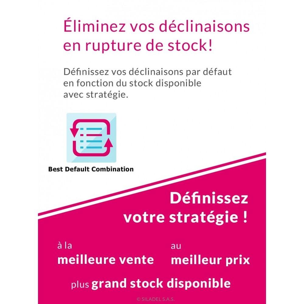 module - Déclinaisons & Personnalisation de produits - Best Default Combination - 1