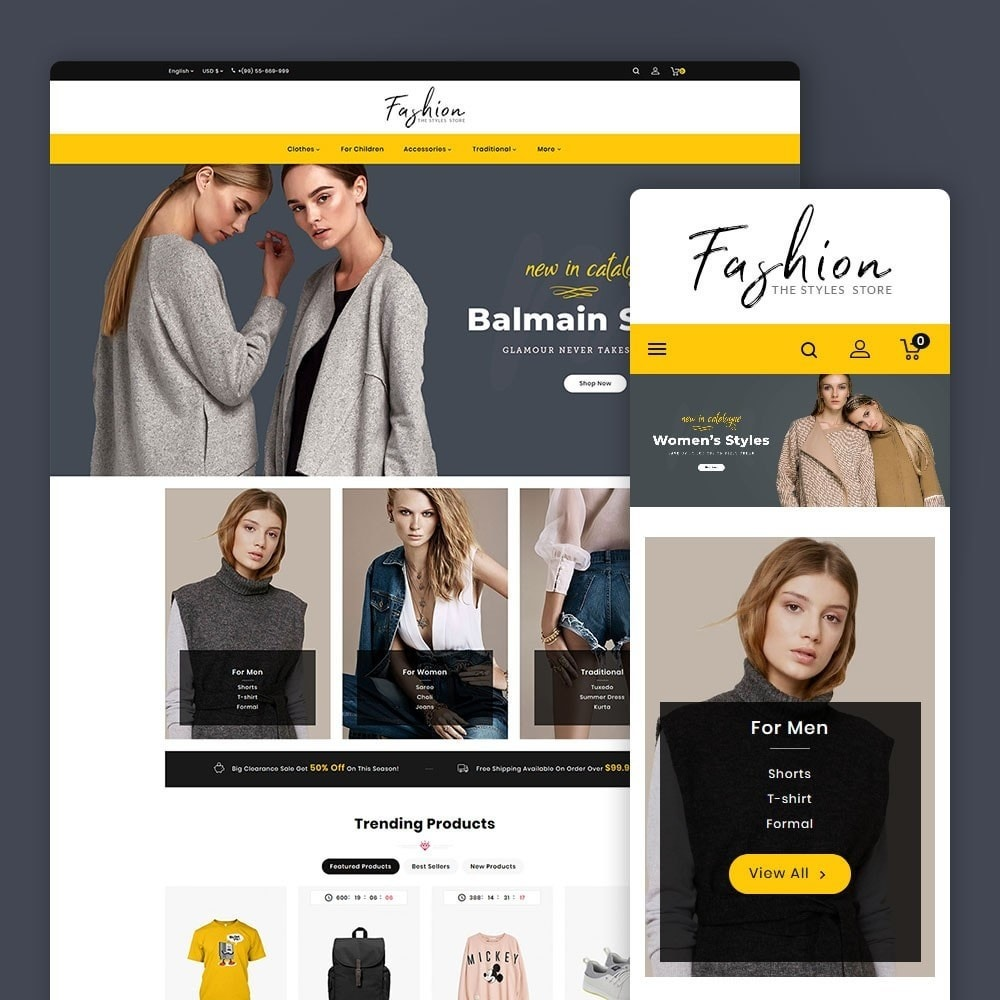 theme - Moda & Obuwie - Fashion - The Stylus Store - 1