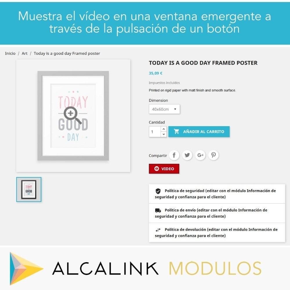module - Vídeos y Música - Vídeo en Ficha Producto - Youtube, Dailymotion... - 4
