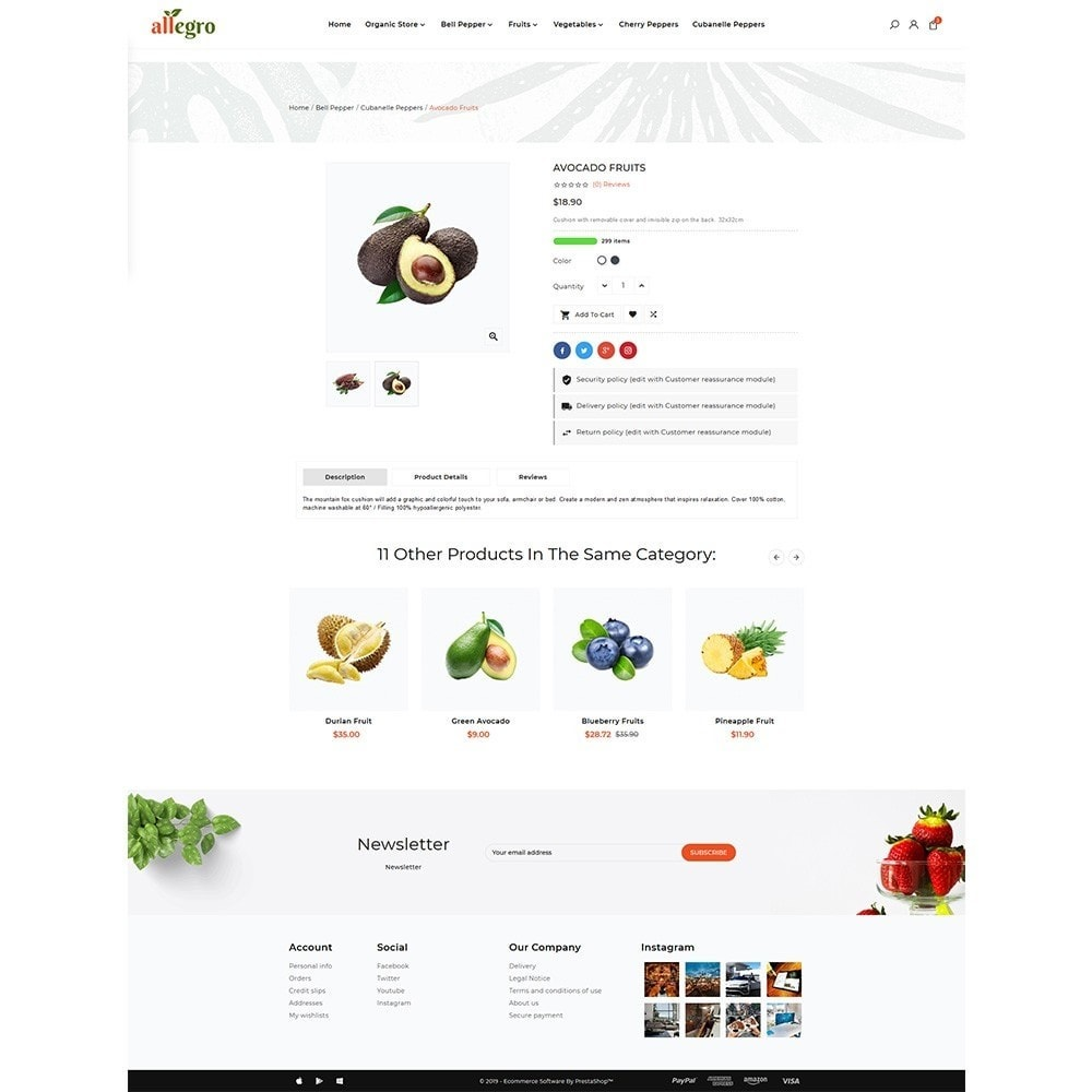 theme - Gesundheit & Schönheit - Orgánica - Organic Fresh Mall - 4