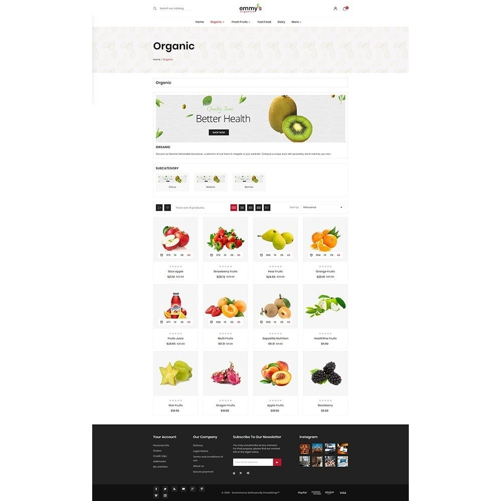theme - Eten & Restaurant - Emmys Food Store - 3