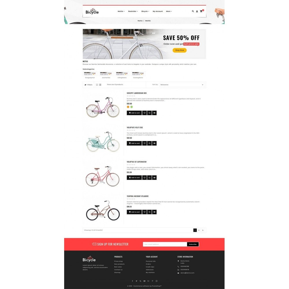 theme - Sport, Loisirs & Voyage - Bicycle Shop - 4
