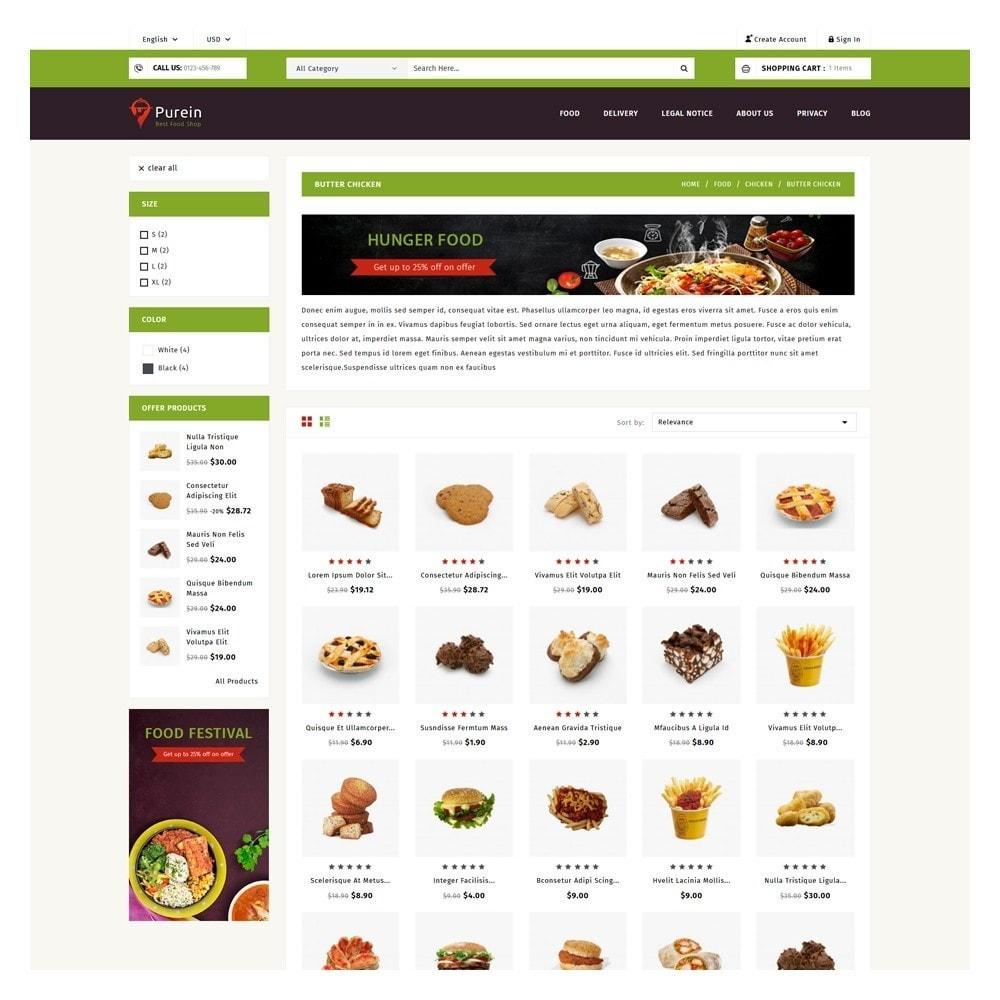theme - Food & Restaurant - PureIn Food & Restaurant - 3