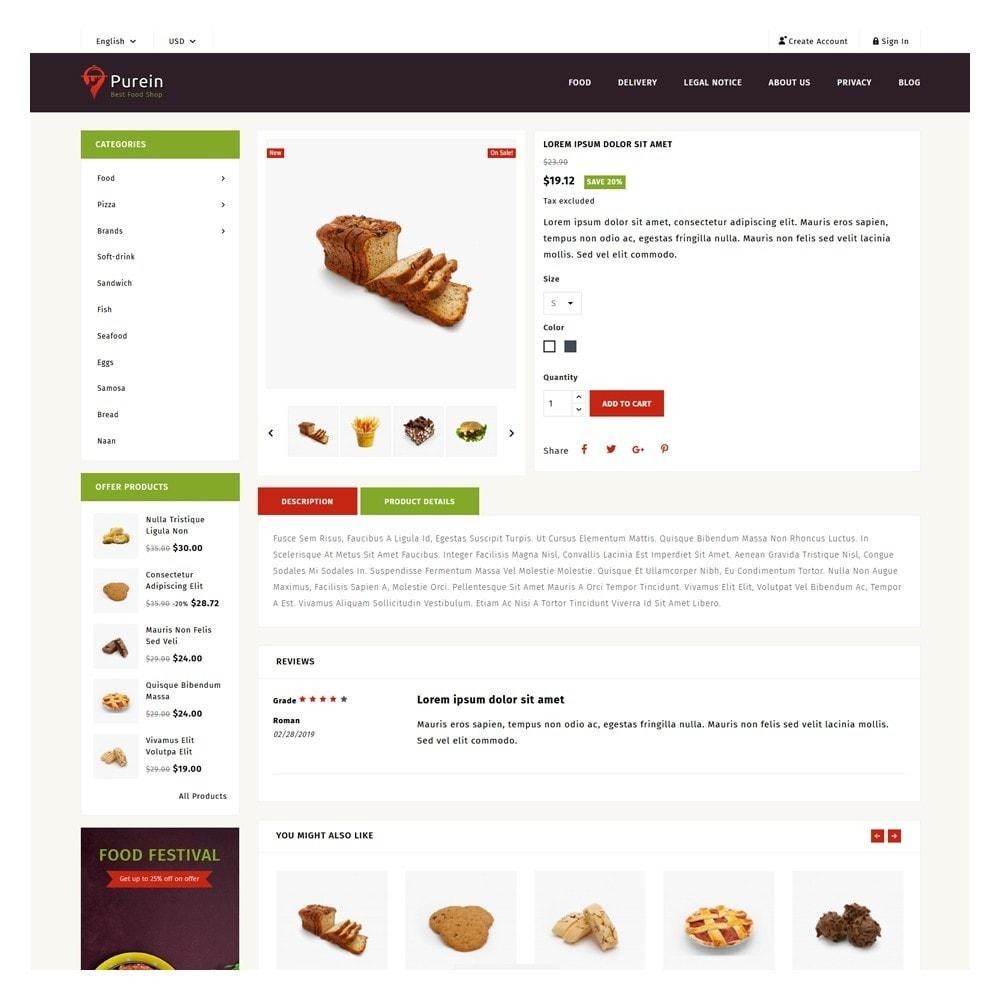 theme - Food & Restaurant - PureIn Food & Restaurant - 5