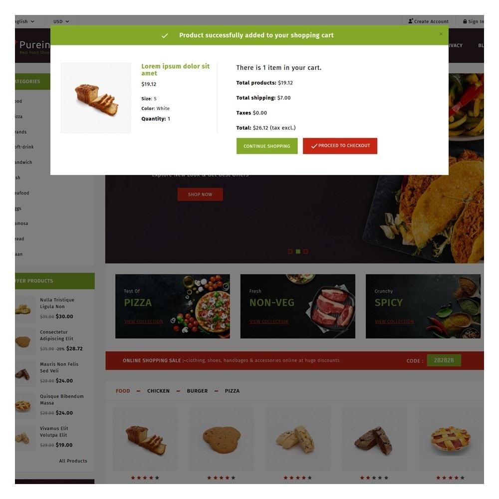 theme - Food & Restaurant - PureIn Food & Restaurant - 6