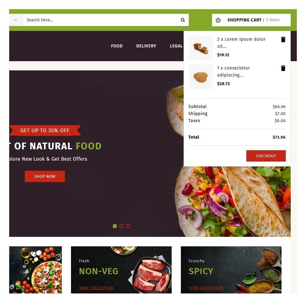 theme - Food & Restaurant - PureIn Food & Restaurant - 7