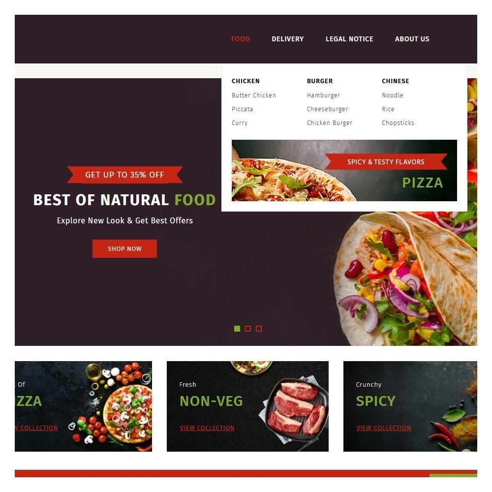 theme - Food & Restaurant - PureIn Food & Restaurant - 8