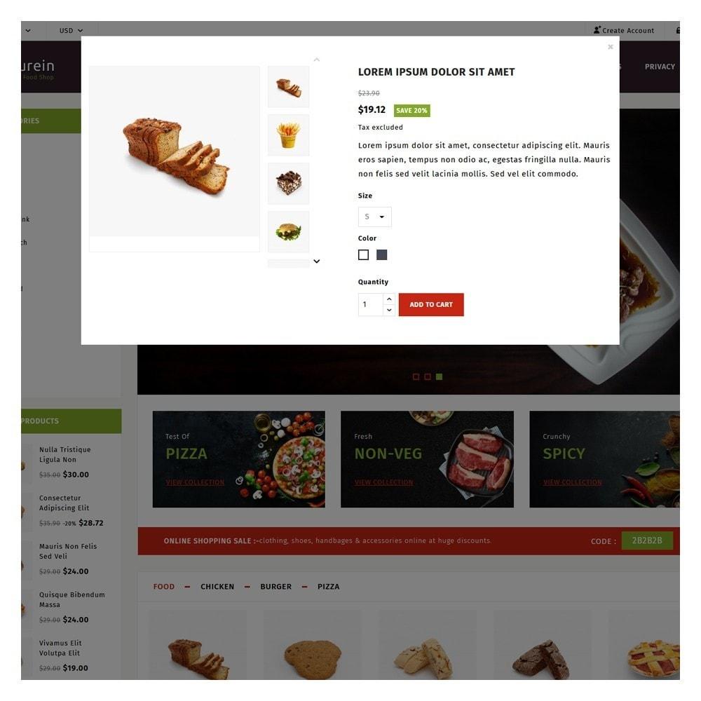 theme - Food & Restaurant - PureIn Food & Restaurant - 9