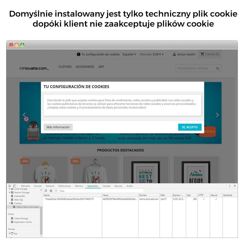 module - Wzmianki prawne - Cookies Prawo RGPD (blokuj cookies) - Zmiany 31/10/2020 - 7