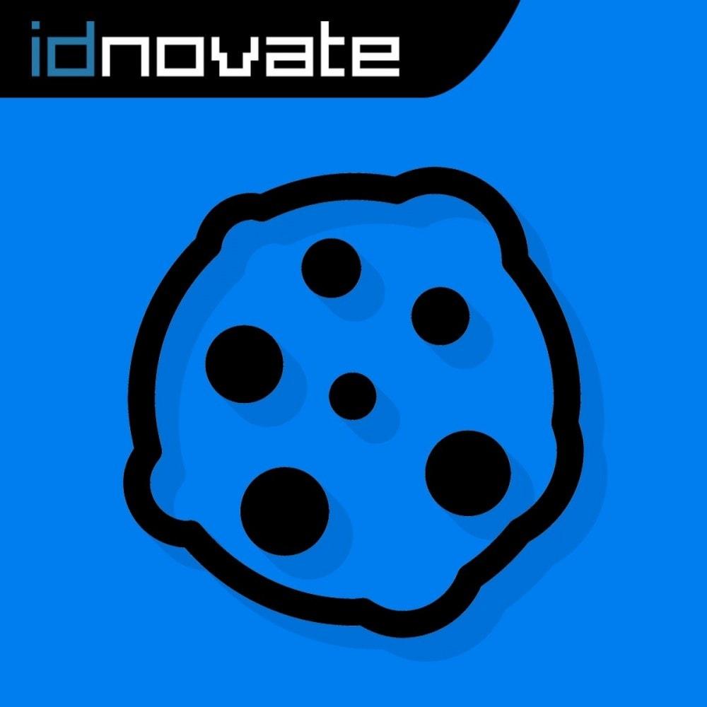 module - Jurídico - Lei dos Cookies RGPD (bloqueia cookies de terceiros) - 1