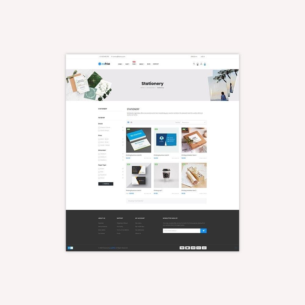 theme - Cadeaus, Bloemen & Gelegenheden - ecoPrint Shop - Responsive Printing Theme - 8
