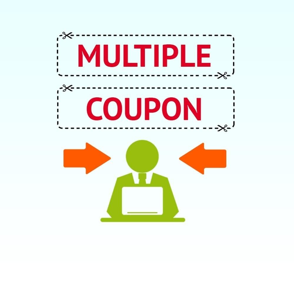 module - Купоны на скидку для социальных сетей - Мульти купоны - 1