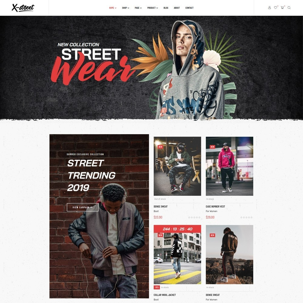 theme - Mode & Chaussures - Leo Xstreet - Street Style Fashion Store - 2