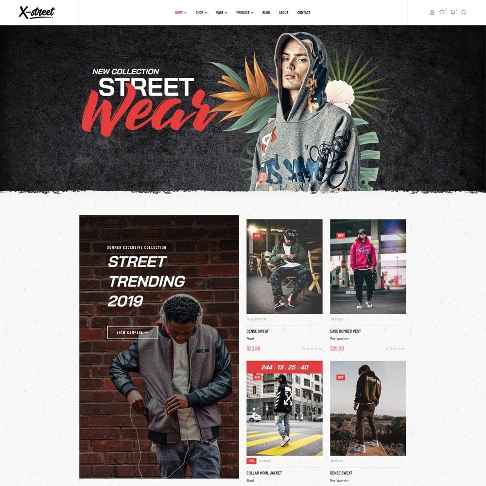 theme - Moda & Calçados - Leo Xstreet - Street Style Fashion Store - 2