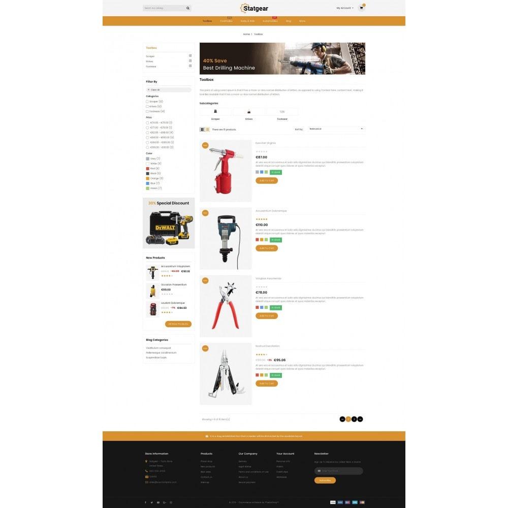 theme - Automotive & Cars - StatGear - Auto parts - 4