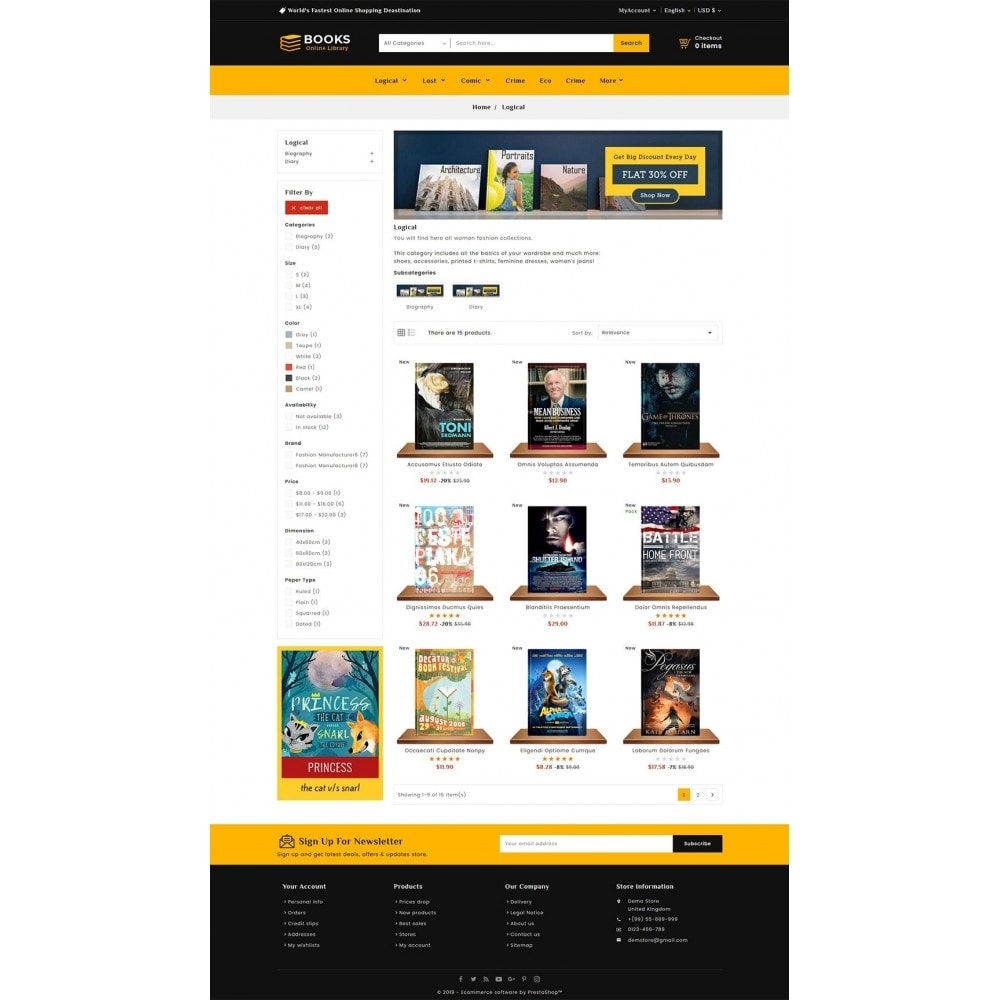 theme - Regali, Fiori & Feste - Online Books Shop - 3