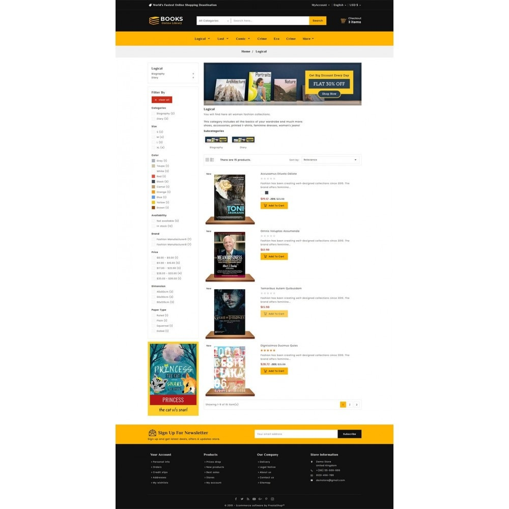 theme - Regali, Fiori & Feste - Online Books Shop - 4