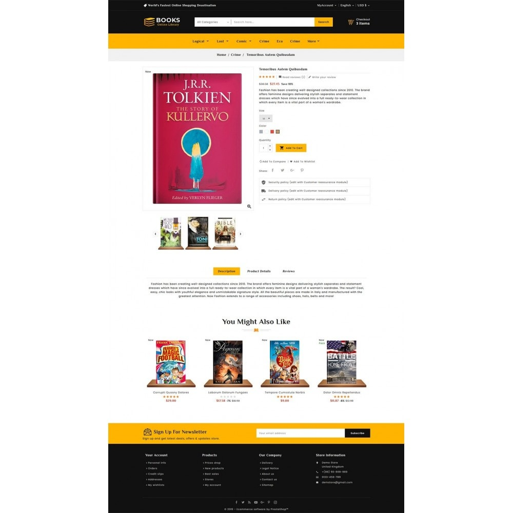 theme - Regali, Fiori & Feste - Online Books Shop - 5