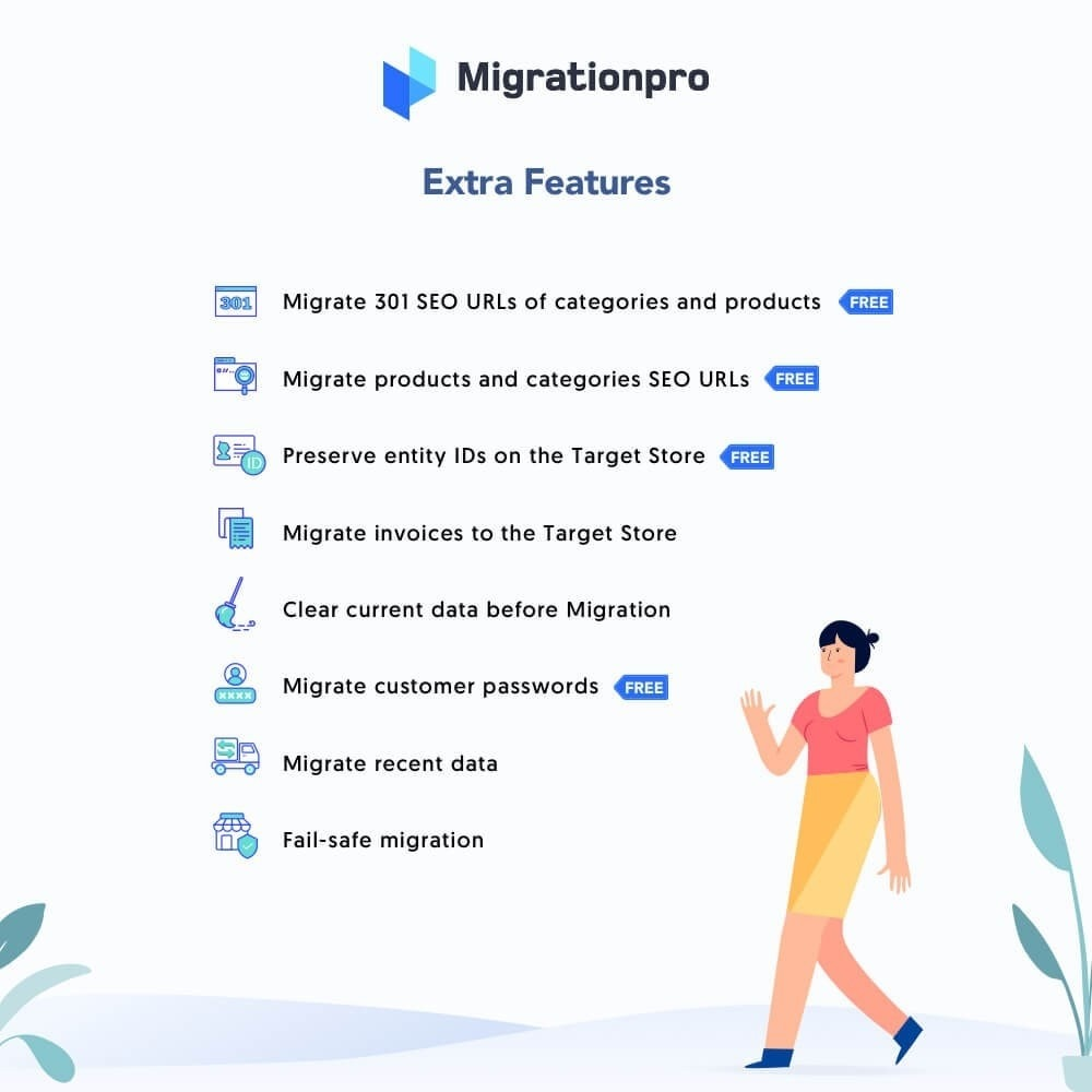 module - Migración y Copias de seguridad - MigrationPro: WP eStore to PrestaShop Migration tool - 5